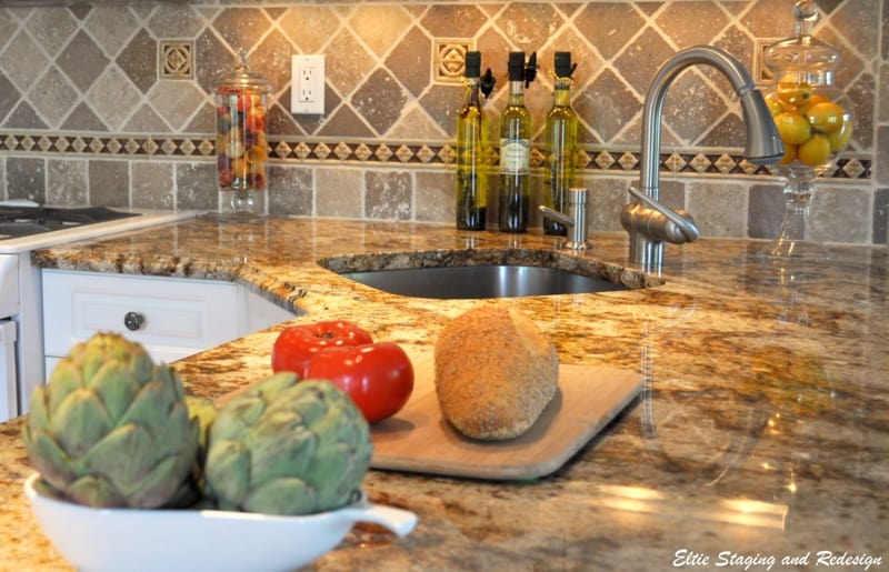 Backsplash natural stone Westchester County