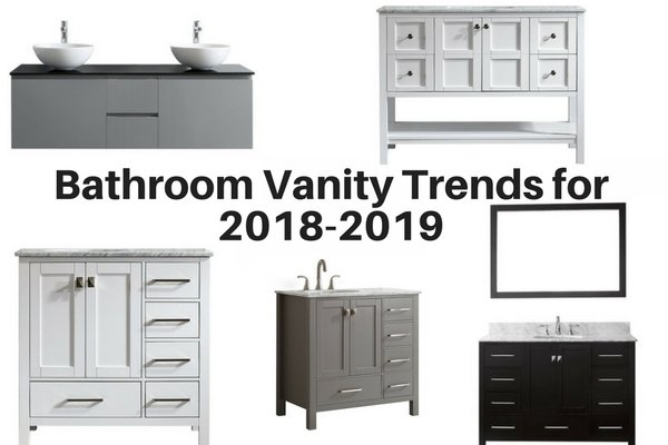 Bathroom Vanity Trends for 2018-2019