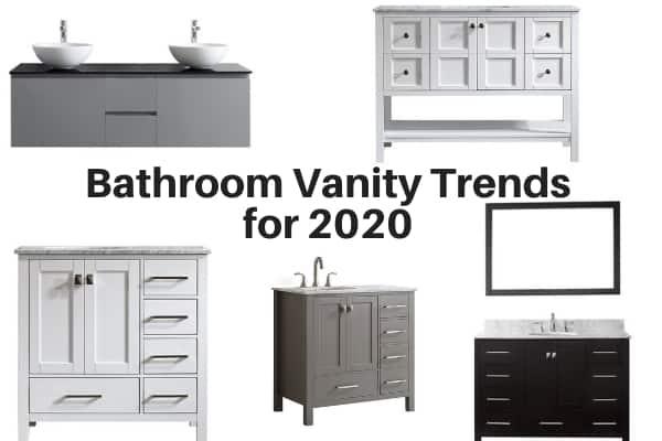 Bathroom Vanity Trends for 2020