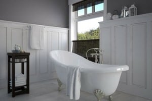 Trends for bathroom flooring and tiles