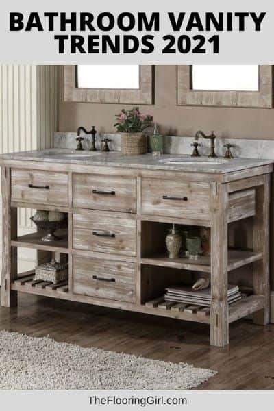 trends for bathroom vanities