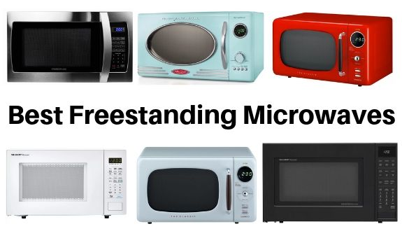 best portable microwaves - freestanding