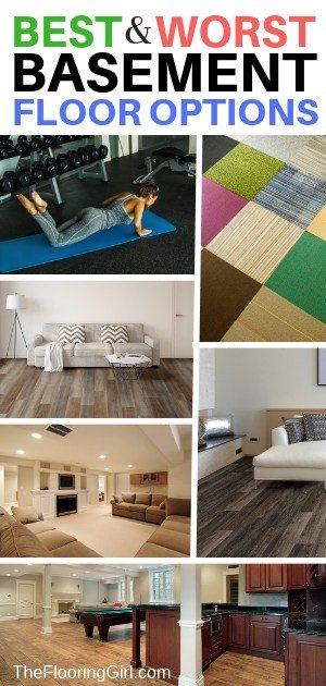 The 10 Best Basement Flooring Options