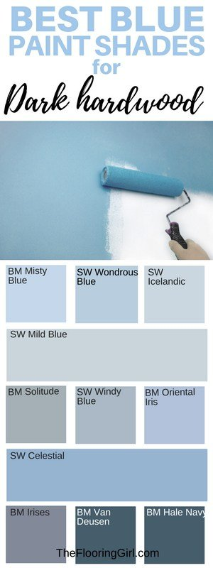 Best Shades Of Paint For Dark Hardwood Floors The Flooring Girl