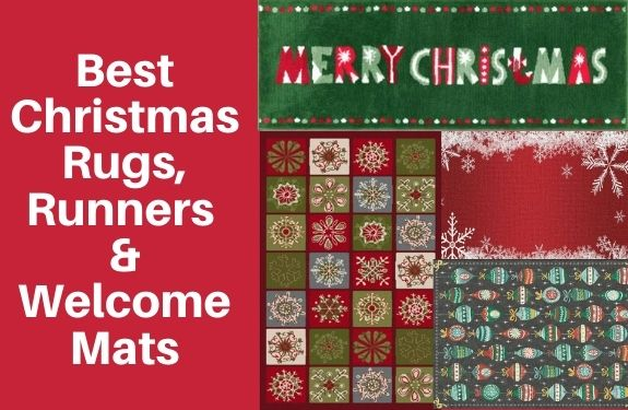 Best Christmas rugs runners and welcome mats