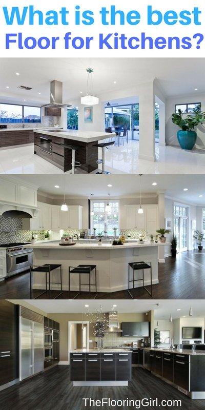 Best floors for kitchens - what are the best tyes of flooring for kitchens
