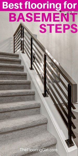 Best flooring for basement stairs
