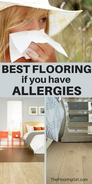 best types of flooring if you are an allergy sufferer