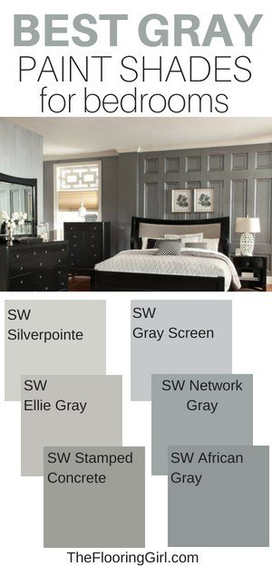 best gray paint shades for the bedroom