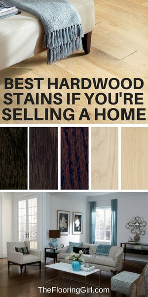 best stain colors for wood and selling your home