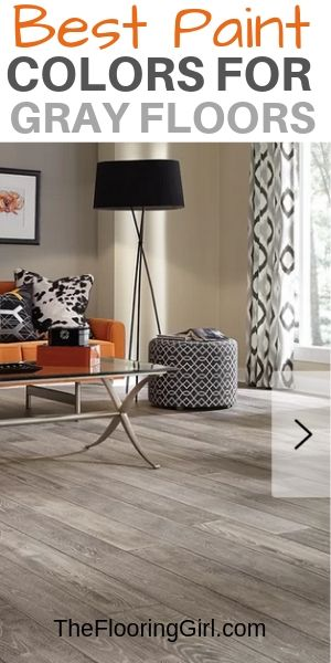grey wood flooring