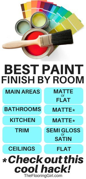 How to choose the right pant finish for your home