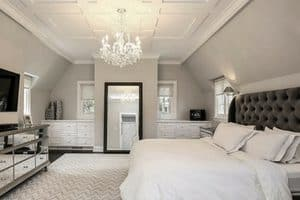 cool shades of grays for painting bedrooms