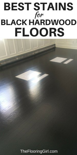 best stain colors for black floors - how to get a true black