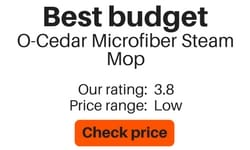 best steam mop for tiling flooring O-Cedar Microfiber steam mop