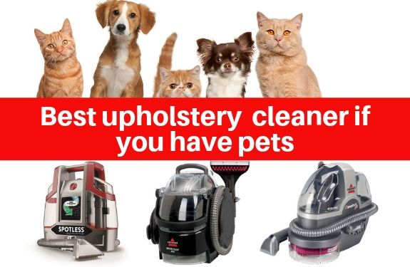 best upholstery and spot cleaners for pet owners