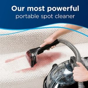 portable spot cleaner for upholstery and carpets