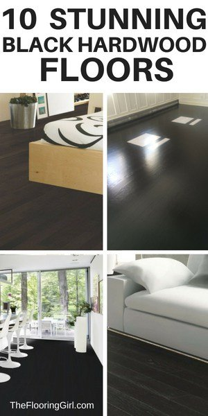 best black hardwood floors