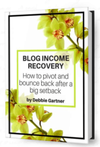 Blog Income Reovery