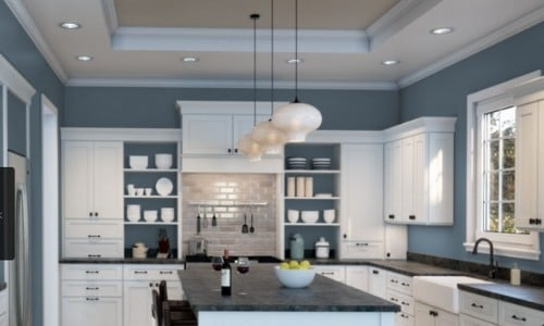 Bracing blue from Sherwin Williams for deep blue gray