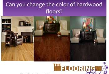 Video Blog – Can you change the color of your hardwood flooring?