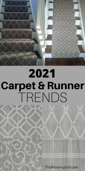 2021 Carpet area rug and runner trends