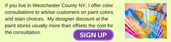 Color consultation for Westchester County