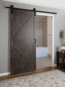 barn doors that slide for a fresh farmhouse look