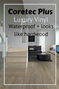 coretec plus review lux vinyl plank that's waterproof