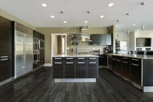 Best choices for kitchen flooring - Coretec Plus engineered luxury vinyl flooring
