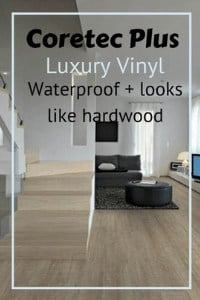 coretec plus review lux vinyl plank that's waterproof