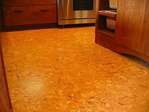 Cork flooring in ktichen - Westchester NY