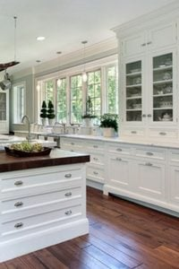 how to improve your kitchen without remodeling - paint the cabinets