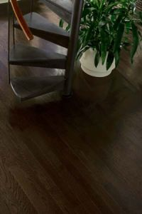 Ebony hardwood floors - time to refinish hardwood