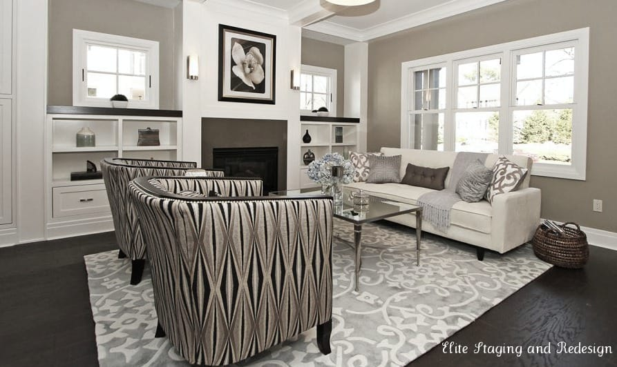 Area rugs on dark wood floors wood floors for Rugs for dark floors