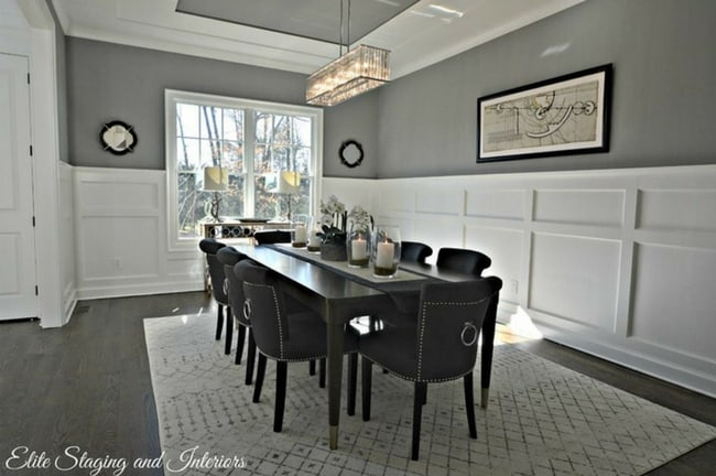 Decorating Rooms With Dark Floors And Gray Walls The