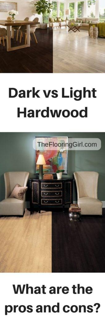 light vs dark hardwood floors