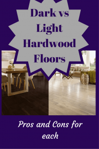 Dark vs light hardwood flooring