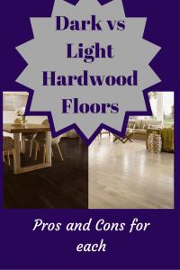 Dark vs light hardwood flooring