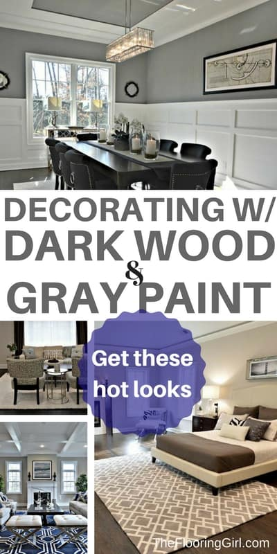 decorating rooms with dark hardwood and gray walls. Shop this post.
