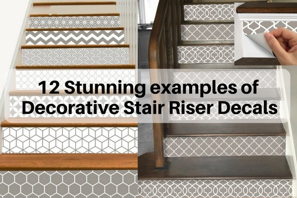 Decorative Stair Riser Decals
