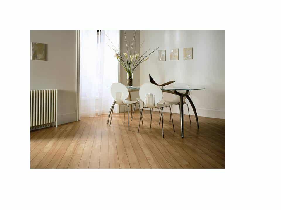 Westchester NY luxury vinyl plank - diagonal lay