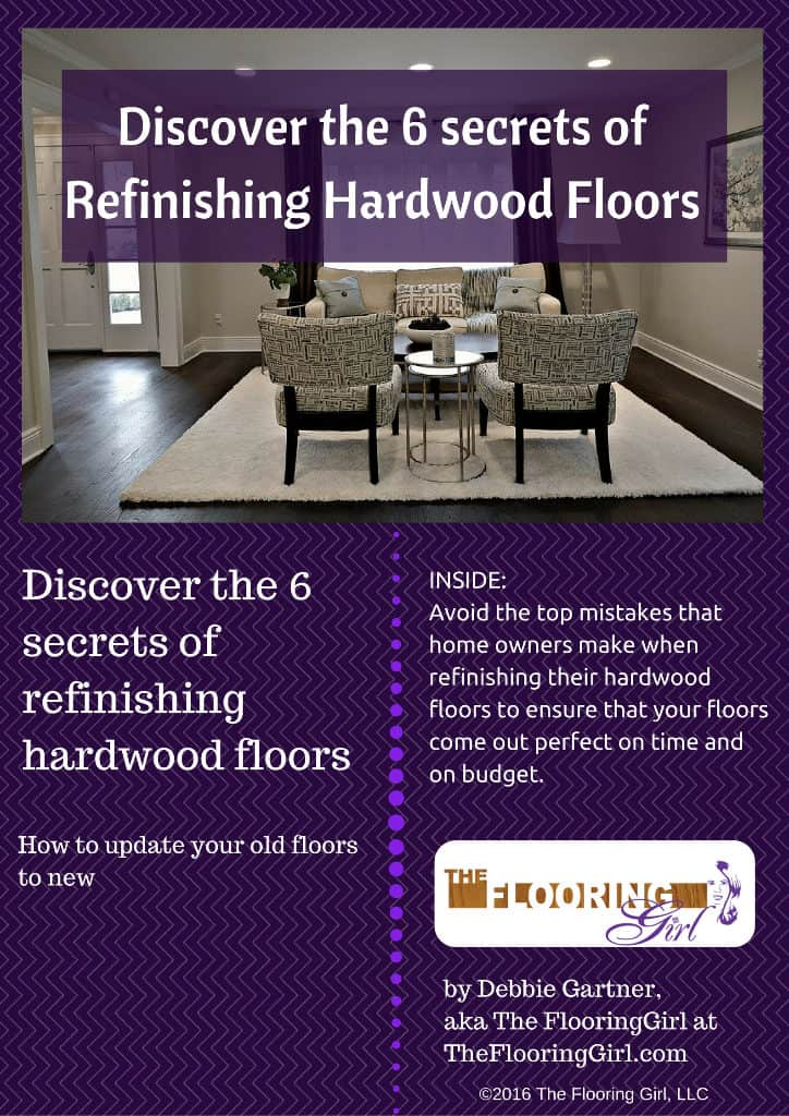Ebook - Discover the 6 Secrets of Refinishing Hardwood Floors