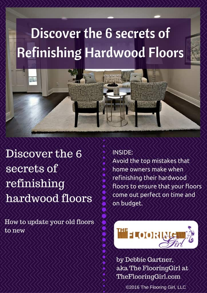 Ebook - Discover the 6 Secrets of Refinishing Hardwood Floors