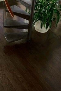 Hardwood floor refinishing dark stain westchester NY