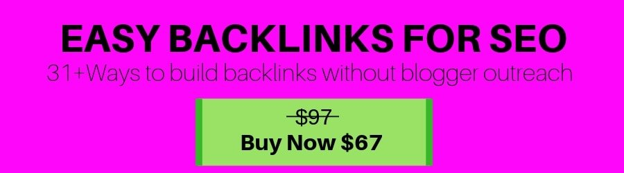 How to build backlinks to your site the easy way