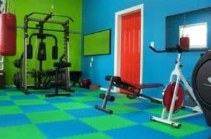 soft foam EVA tiles for home gyms