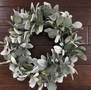 christmas wreath farmhouse style