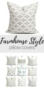 farmhouse style pillows