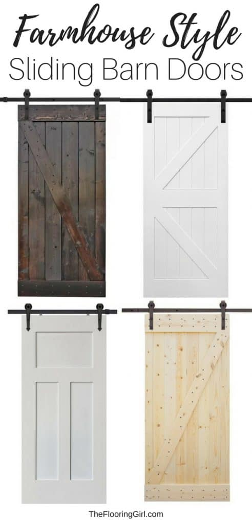 11 Affordable sliding barn doors for an authentic ...